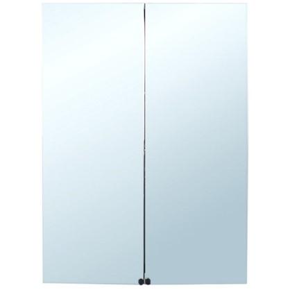 Зеркальный шкаф Дана 60 см цвет белый