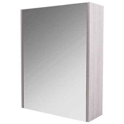 Зеркальный шкаф Экко 60 цвет бежевый