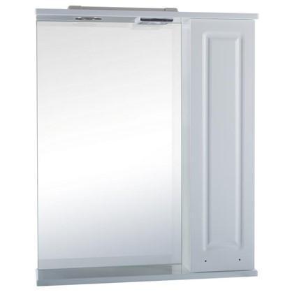Зеркальный шкаф Классик 60 см цвет белый