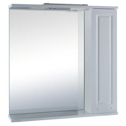 Зеркальный шкаф Классик 70 см цвет белый