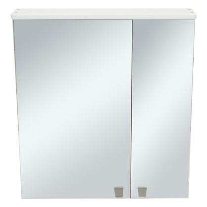 Зеркальный шкаф Лидия 65 см цвет белый