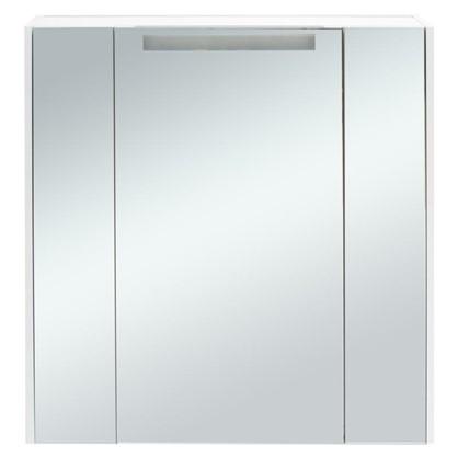 Зеркальный шкаф Мерида 80 см цвет белый