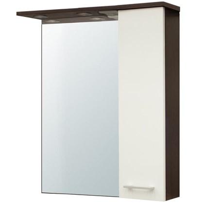 Зеркальный шкаф Равенна 60 см цвет венге