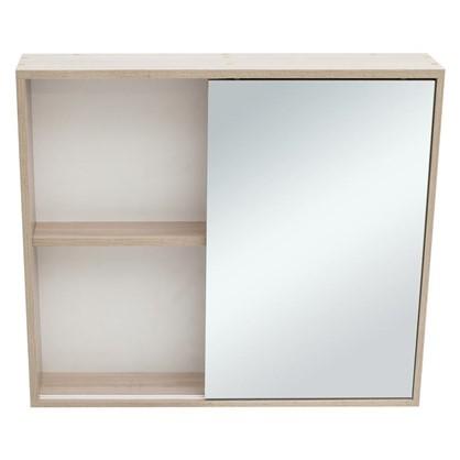 Зеркальный шкаф Римини 80 см цвет белый