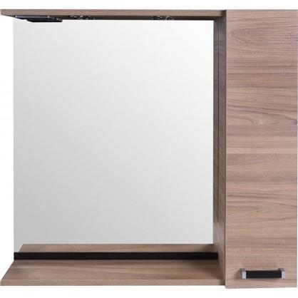 Зеркальный шкаф Торонто 75 см цвет швейцарский вяз