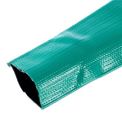 Шланг для полива трёхслойный плоский 2 дюйма цвет зелёный на отрез