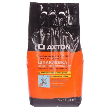 Шпаклевка цементная финишная Axton 5 кг