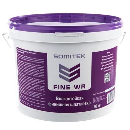 Шпаклевка финишная влагостойкая Somitek Fine WR 16 кг