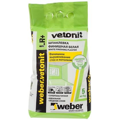Шпаклевка финишная Weber Vetonit LR Plus 5 кг