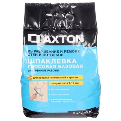 Шпаклевка гипсовая базовая Axton 5 кг