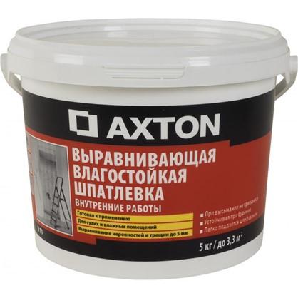 Шпаклевка влагостойкая Axton 5 кг