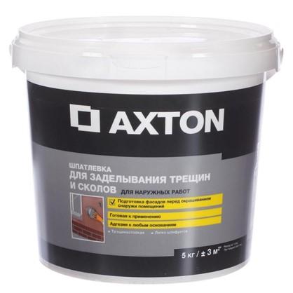 Шпатлевка для трещин для фасадов Axton 5 кг