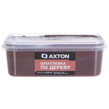 Шпатлевка Axton для дерева 04 кг эспрессо