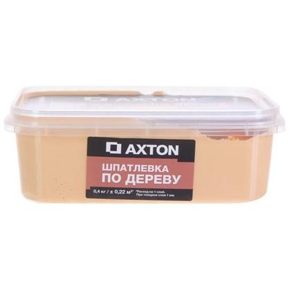 Шпатлевка Axton для дерева 04 кг сосна