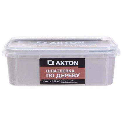 Шпатлевка Axton для дерева 04 кг тач