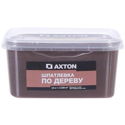 Шпатлевка Axton для дерева 09 кг эспрессо