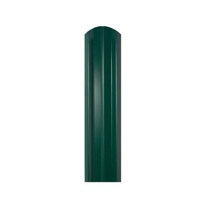 Штакетник ЭКО-М 76мм 1.5 м двухсторонний зеленый