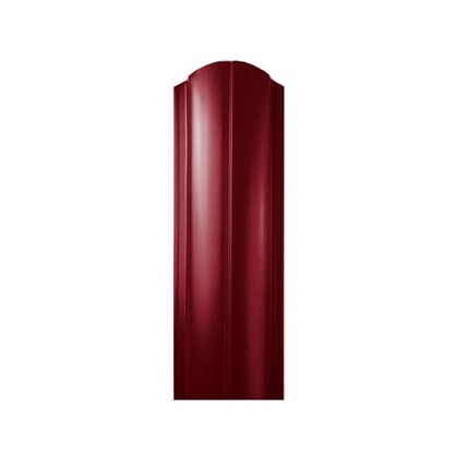 Штакетник ПРЕМ 130мм 1.5 м двухсторонний вишневый