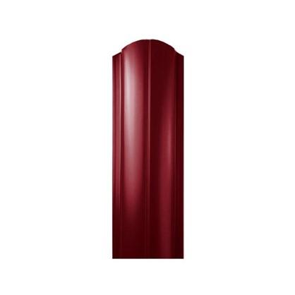 Штакетник ПРЕМ 130мм 1.8 м двухсторонний вишневый