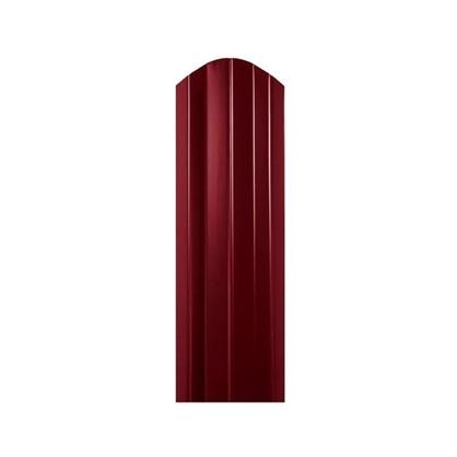 Штакетник СТ-М 100мм 1.8 м двухсторонний вишневый