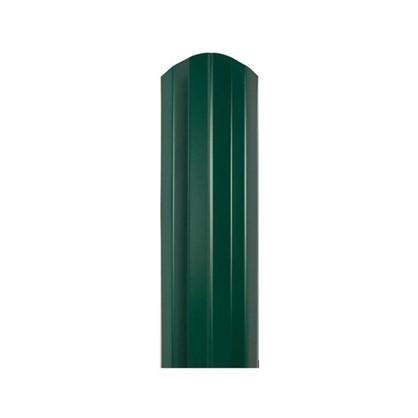 Штакетник СТ-М 100мм 2 м двусторонний зеленый