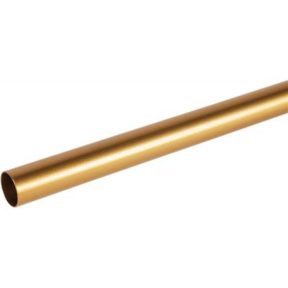 Штанга гладкая 20-200 см сталь цвет золото матовое