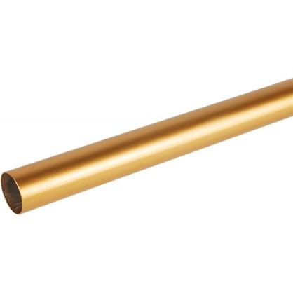 Штанга гладкая 20-240 см сталь цвет золото матовое
