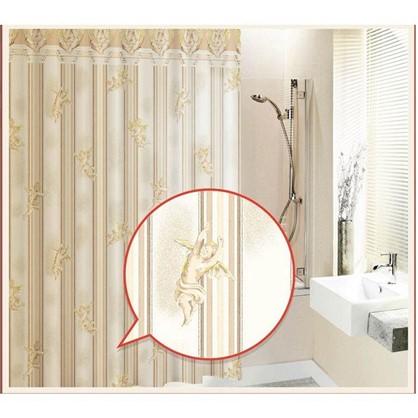 Штора для ванной Gold Angel 180х180 см цвет бежевый