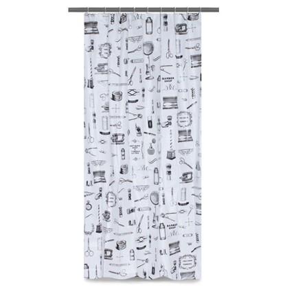 Штора для ванной Sensea Barber 180х200 см