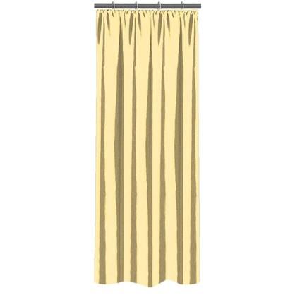 Штора на ленте 140х260 см тафта цвет золотой
