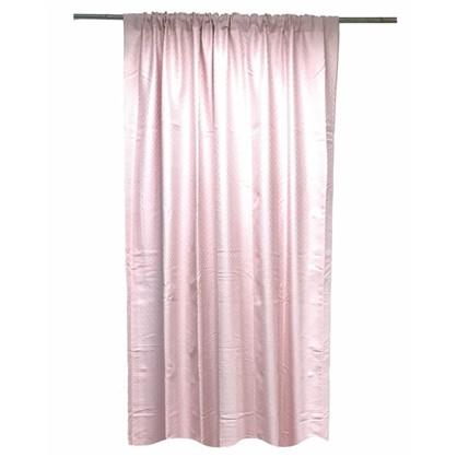 Штора на ленте Девенпорт 140х260 см цвет розовый