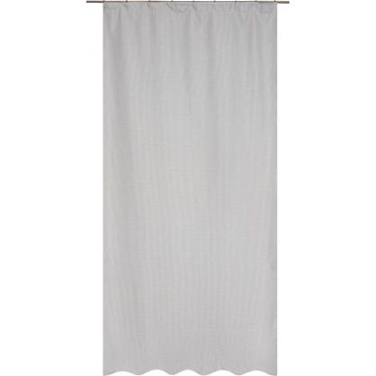 Штора на ленте Gosford 140х260 см цвет серый