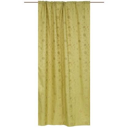 Штора на ленте Karina 160х260 см цвет зеленый