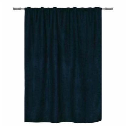 Штора на ленте Манчестер 200х280 см цвет черный синий