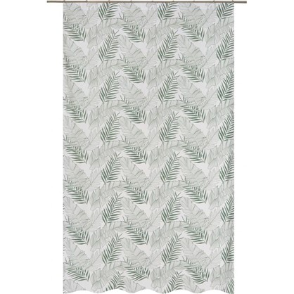 Штора на ленте Минск 160х260 см цвет зеленый