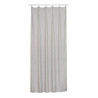 Штора на ленте Новокузнецк 160х260 см цвет серый