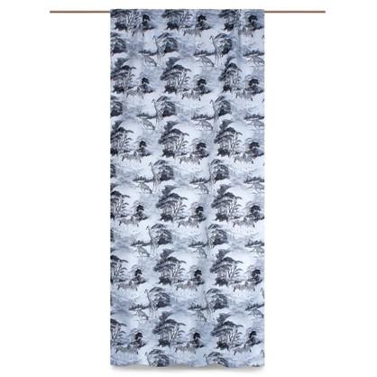 Штора на ленте Саванна 145х280 см цвет белый