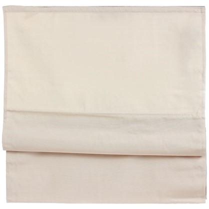 Штора римская Лея 160х160 см цвет кремовый