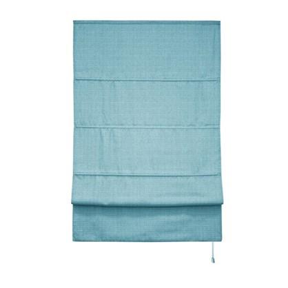 Штора римская Натур 120х175 цвет синий
