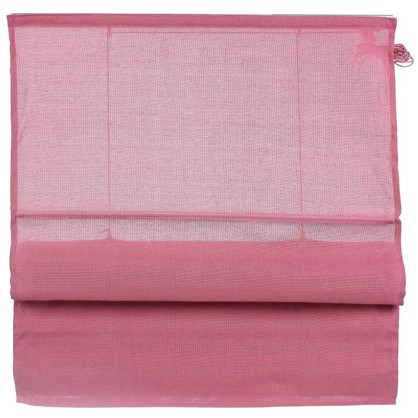 Штора римская Натур 160х160 см цвет розовый