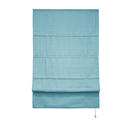 Штора римская Натур 180х175 цвет синий