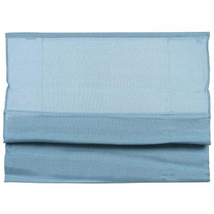 Штора римская Натур 60х160 см цвет синий