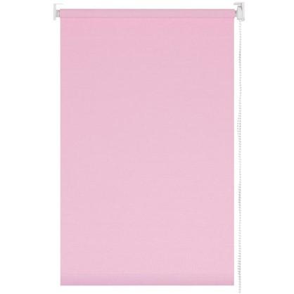 Штора рулонная 50х155 см цвет розовый