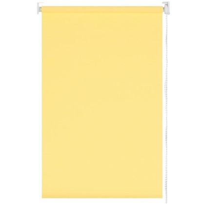 Штора рулонная 60х155 см цвет бледно-желтый