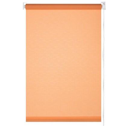 Штора рулонная 70х155 см цвет персиковый