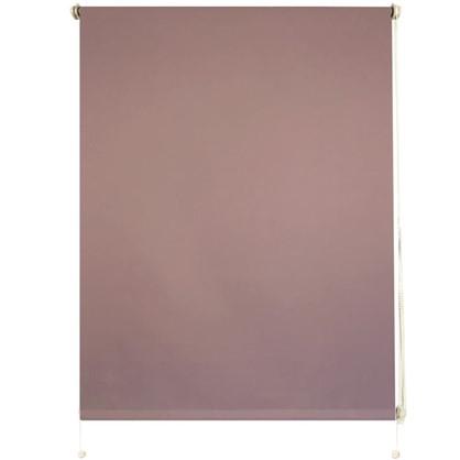 Штора рулонная Blackout Inspire 100х160 см цвет сиреневый