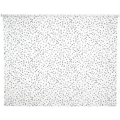 Штора рулонная Фантазия 160х175 см цвет черно-белый