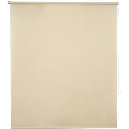 Штора рулонная Inspire Меланж 120х175 см цвет кремовый