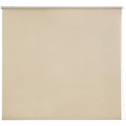 Штора рулонная Inspire Меланж 160х175 см цвет бежевый