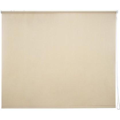 Штора рулонная Inspire Меланж 180х175 см цвет кремовый